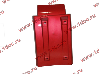 Брызговик передней оси левый H3 красный HOWO (ХОВО) WG1642230103