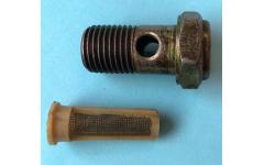 Болт пустотелый М14 с фильтр-сеткой (штуцер топливный) H фото Омск