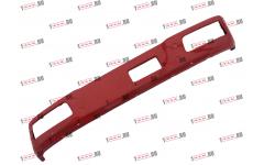 Бампер F красный металлический (до 2007г) для самосвалов фото Омск