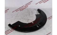 Пыльник (щиток) тормозов F задний левая половина для самосвалов фото Омск