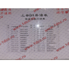 Комплект прокладок на двигатель Shanghai D9-220 XCMG/MITSUBER D9-220-XLB фото 2 Омск